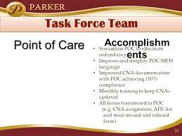 Cna Poc Charting Francis E Parker Memorial Home An Interdisciplinary Ehr
