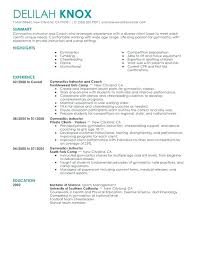 Exercise Science Resume Examples Exercise Science Resume Foodcity Me