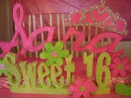 sweet 16 candelabra by styroscript com