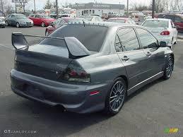 2006 Graphite Gray Mitsubishi Lancer Evolution IX MR #26778366 ...