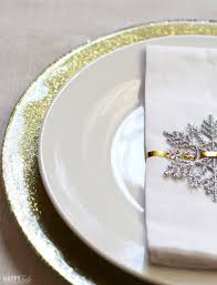 gold glitter dollar charger plates