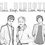 One Direction Kleurplaten Maison Mansion