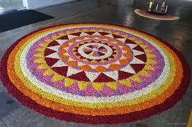 Pookalam Designs Outline 60 Most Beautiful Pookalam Designs For Onam Festival Part 3