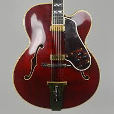1973 Twin Pickup Gibson Johnny Smith Archtop, Wine Red