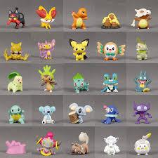 Set 24 Mô Hình Đồ Chơi Nhân Vật Trong Phim Hoạt Hình Pokemon giá cạnh tranh