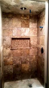 tumbled travertine tile shower. Wonderful Shower Scabos Travertine 12x12 With Tumbled 6x6 For Floor And Ceiling Accent Is  58x58 Tumbled Sienna In Tile Shower Y