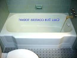 refinish cast iron bathtub cast iron bathtub refinish photo 1 of winsome bathtub refinishing reviews image refinish cast iron bathtub