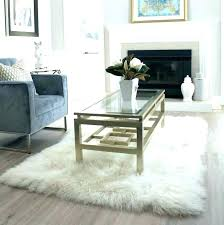 large faux sheepskin rugs area rug fur gray sisal big