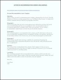 Personal Recommendation Letter Graduate School For Reference