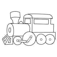Small Picture Easy train coloring pages for kids ColoringStar