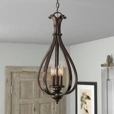 foyer pendant lighting breathtaking three posts enfield 3 light foyer pendant reviews wayfair