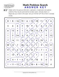 Answer Key Math Worksheets Worksheets for all | Download and Share ...