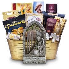 amazing grace wind chime sympathy gift basket