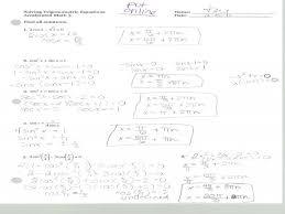 trig equations worksheet homeschooldressage com 5 3 solving trig equations practice