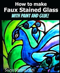 stained glass paint how to make faux stained glass krylon stained glass paint yellow