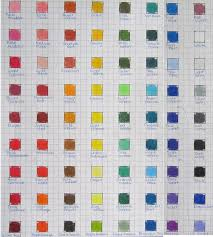 Lyra Rembrandt Polycolor Color Chart By Josephine9606 In