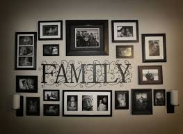 family photo collage wall photo collage idea for the wallwe can cut the family out of