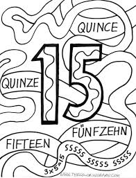 Small Picture Easy Coloring Page For Kids Number 15 Coloring Pages