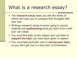 the research essay every students guide to success ppt  what is a research essay