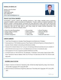 Electrical Engineering Resume – Yomm