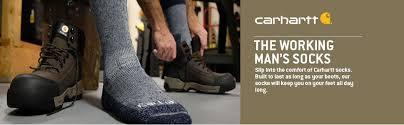 Carhartt Shoe Size Chart Carhartt Mens 6 Pack All Terrain Boot Socks