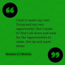 Madam Cj Walker Quotes Awesome Madam CJ Walker Quote WwwAsummermoon Mindset Quotes