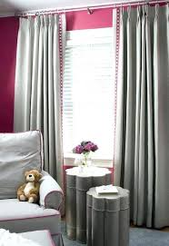 Grey And Pink Bedroom Curtains Pink Bedroom Curtains Doing Gray Curtains  With The Pink Walls Our