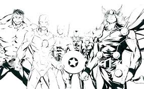 Avengers 2 Coloring Pages Psubarstoolcom