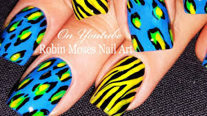 Animal Print Nails | DIY Zebra and Leopard Nail Art Design For ...