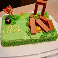 Angry Birds Birthday Cake6