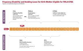 Ca Disability Benefits Chart California Maternity Leave Hello Bernice