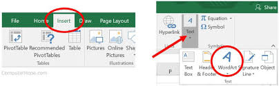 Ms Word Powerpoint How To Add Word Art In Microsoft Word Excel And Powerpoint