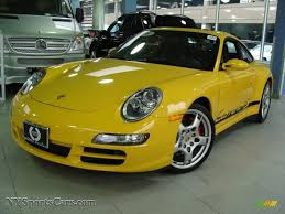 2006 Porsche 911 Carrera 4S Coupe in Speed Yellow - 742058 ...