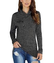 KIRUNDO 2019 Winter Women's Long Sleeve ... - Amazon.com