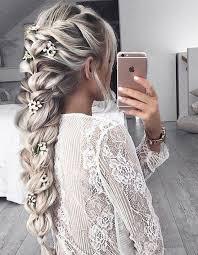 Coiffure Demoiselle Dhonneur Cheveux Longs 15 Coiffures