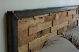 iron and wood bedroom furniture. reclaimed wood and iron steel headboard bedroom furniture i