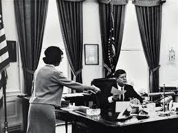 Jfk in oval office Replica Jfk With Staff In The Oval Office Usa By Arthur Rickerby Artnet Jfk With Staff In The Oval Office Usa By Arthur Rickerby On Artnet