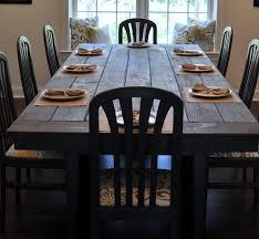 Farmhouse Table Remix How To Build A Farmhouse Table East - Diy rustic dining room table