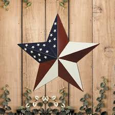 patriotic metal barn star outdoor