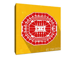 Yum Center Detailed Seating Chart Amazon Com Kfc Yum Center College Basketball Seating