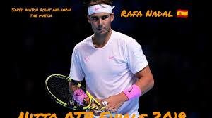 Rafael Nadal Daniil Medvedev | Nitto Atp Finals 2019 | Atp Finals | Seco...  | Rafael nadal, Match point, Tennis
