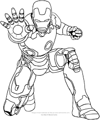 Infinity War Iron Man Coloring Pages Daily Motivational Quotes