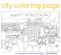 Small Picture City Coloring Page