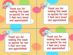 Thank You Notes Teacher Appreciation Thank You Notes To Students From Teacher Tpt