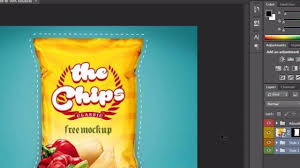 Bag Design Software Free How To Design Chips Bag Packaging Label In Photoshop Latest