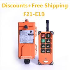 TELECRANE F21 E1B <b>Industrial Crane Wireless radio</b> RF Remote ...