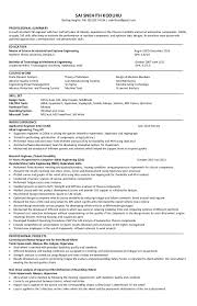 Resume Analysis Simple Experienced Cae FEA Engineer Resume