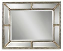 mirror. Uttermost Lucinda Antique Silver Mirror Z