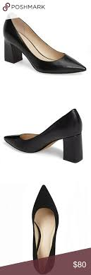 Marc Fisher Block Heels Pointy Toe Pumps Super Chic And