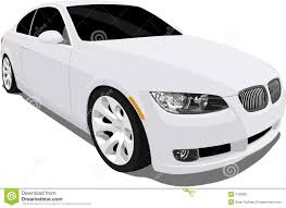 BMW 3 Series bmw 3 series in white : Bmw 3 Series White stock vector. Illustration of import - 7780981